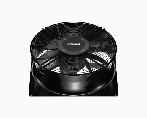 EC-motor fan