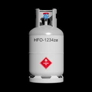 HFO-1234ze refrigerant