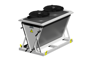 Bora V-shaped dry cooler