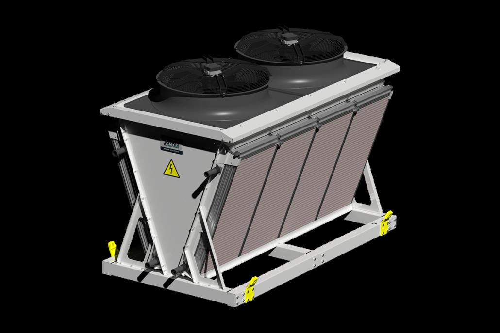 Bora V-shaped evaporative dry cooler