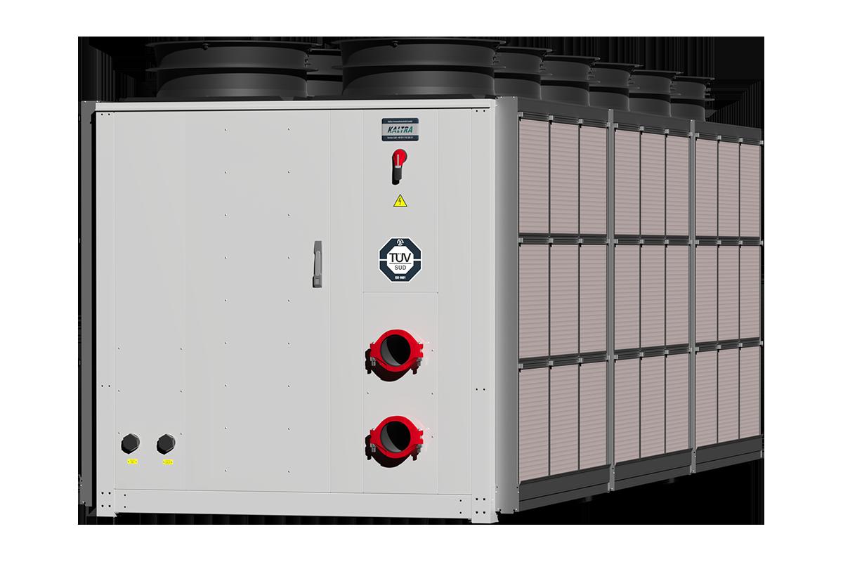Hybrid dry cooler
