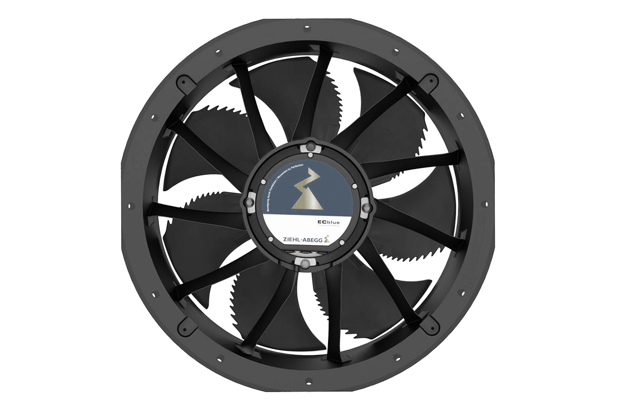 Axial EC-fan