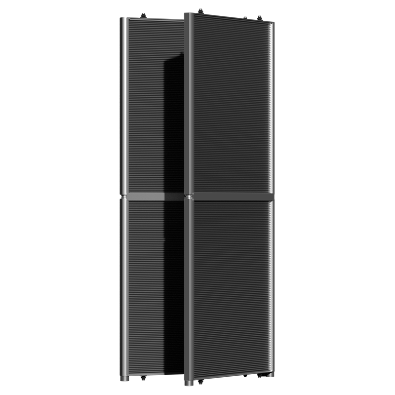 Microchannel evaporator coil