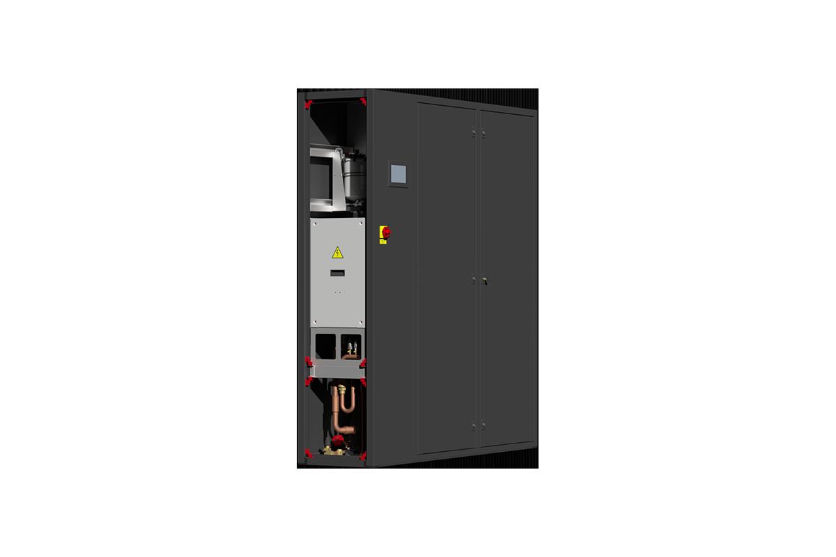 Compact precision air conditioner