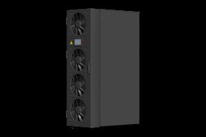 Server rack cooling door