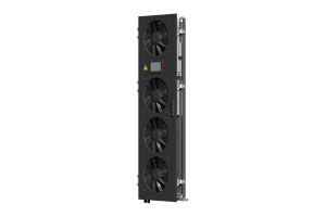 In-rack cooling door