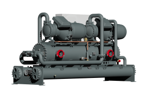 Dual-circuit water-cooled chiller