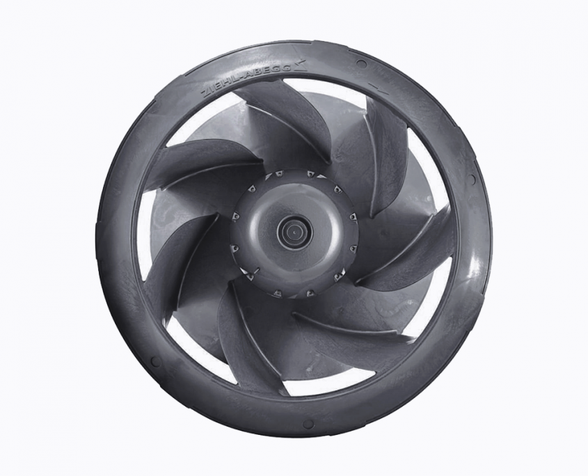 Radial EC fan