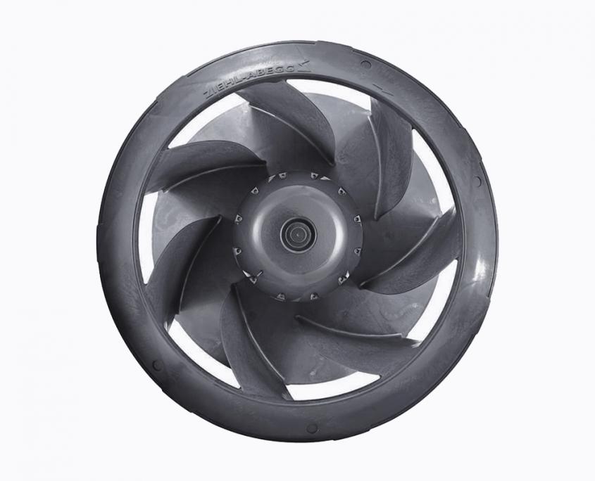 Radial EC fan