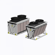 Evaporative dry coolers