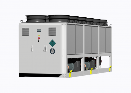 Variable-speed chiller