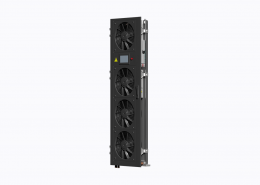 Server rack cooling door