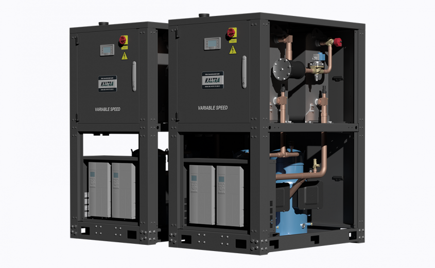 Variable-speed chillers